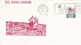 APOLLO 14 Moon Landing Space Cover 5 Fevrier 1971 - USA
