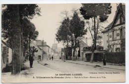 VILLENAUXE LA GRANDE (10) - RUE DE LA GARE - ENTREE DE LA VILLE - France