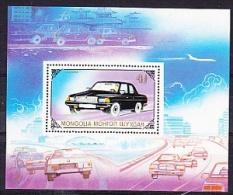 Mongolia 1989 Auto/Car M/s ** Mnh (21883) - Mongolië