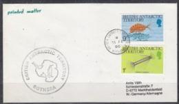 British Antarctic Territory 1986 Rothera Cover Ca Rothera 15 Fe 86 (21885) - Brits Antarctisch Territorium  (BAT)