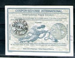 7551  IRC IAS CRI International Reply Coupon USA Amerika United States Of America T2 Stempel Chicago - United States