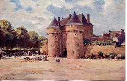CP - GUERANDE - PORTE SAINT MICHEL -  EUGENE BOURGEOIS - XVIII N°4 - LES SITES DE FRANCE - Guérande