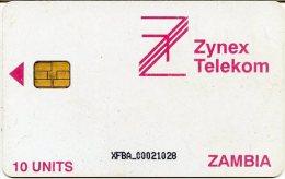 @+ Zambie - Carte à Puce - Zinex Telekom 10U