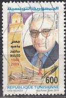 Tunisia, 2010 - 600m Jaafar Majed - Nr.1501 Usato° - Tunisia (1956-...)