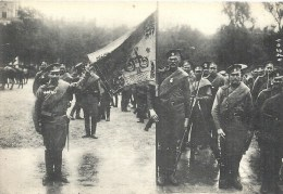 ILE DE FRANCE - 75 - PARIS - 1916 - Défilé 14 Juillet -  Drapeau Russe - Guerre 1914-18