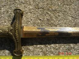 Glaive De Cérémonie XIXème Siècle - Armes Blanches