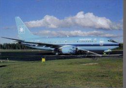 B.737 Boeing Aerei Aircraft Maersk Air B 737 Avion Aviation B-737 Aiplane Planes Flugzeuge B-737 - 1946-....: Moderne
