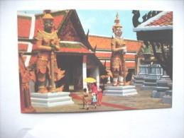 Asia Thailand Bangkok Wat Phra Keo - Thailand