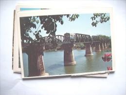 Thailand Kanchanaburi Bridge And Train - Thailand