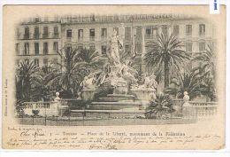CPA (83) TOULON - Place De La Liberté, Monument De La Fédération - (026) - Toulon