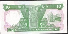 HONG-KONG P191c  10  DOLLARS   1991      XF - Hong Kong