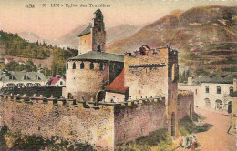 PK. 38. LUZ - EGLISE DES TEMPLIERS - Postkaarten