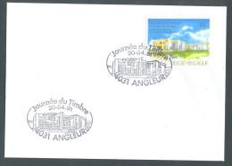 OCB Nr 2404 Zegeldrukkerij Te Mechelen - Stempel Angleur - Cartas