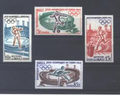 """Mali 63/66**   (MNH)     """"TOKYO - 1964"""" - Summer 1964: Tokyo"""