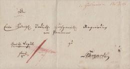 Brief Gelaufen Von Gollnow Am 17.12.1813 Nach Stargard - Deutschland