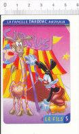 Humour Cirque Circus Girafe Animal   // IM 91/8 - Vieux Papiers