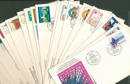 UNO 1979 NY, Genf, Wien 19 Verschiedene UNPA-FDC (XL9130) - Colecciones (sin álbumes)
