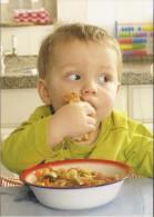 NL.- Boomerang Kaart - Groentesoep Met Macaroni En Ham. AH - Recepten (kook)