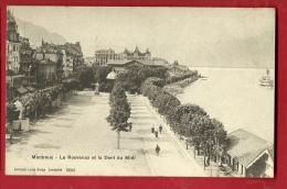 XBK-15 Montreux, La Rouvenaz Et La Dent Du Midi, Bateau. Non Circulé - VD Vaud