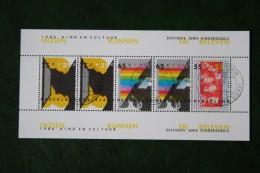 Blok Kinderzegels ; NVPH 1366 (Mi Block 29); 1986 Gestempeld / Used NEDERLAND / NIEDERLANDE / NETHERLANDS - Period 1980-... (Beatrix)