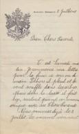 1927: Lettre Du / Brief Van Het ## Pensionnat Des Frères, REIMS – MOMIGNIES ## - Vieux Papiers