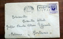 ITALIA 1938 - MARCONI CENT 50 SU BUSTA VIAGGIATA - 1900-44 Victor Emmanuel III.