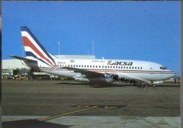 Boeing B737 Aircraft Lacsa B-737 Airlines B.737 Avion Aviation B 737 Aiplane Planes Flugzeuge - 1946-....: Moderne