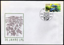 DDR 1987 - Landwirtschaft / 35 Jahre LPG - FDC - Landwirtschaft