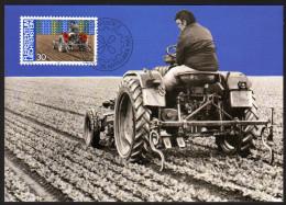 LIECHTENSTEIN 1982 - Landwirtschaft Ackerbau - Maximumkarte MC - Landwirtschaft