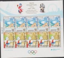 O) 2012 KOREA, GAMES OF THE XXX OLYMPIAD LONDON 2012, SET MNH - Korea (...-1945)