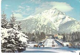 Winter In The Canadian Rockies, Main St., Banff, Alberta - Banff