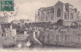 C P A ----64---BIARRITZ ---port Des Pêcheurs, Enfants Plongeurs ---voir 2 Scans - Biarritz