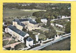 CPSM - EN AVION AU DESSUS DE...  1 - COURTEMONT VARENNES - La Colonie - France