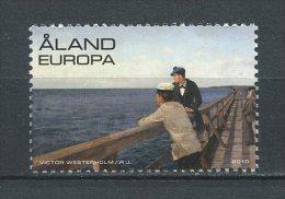ALAND 2010 N° 321 ** Neuf = MNH  Superbes Cote 2.50 €  Art Victor Westerholm Peintre Bateaux Postaux Boats Peinture - Aland