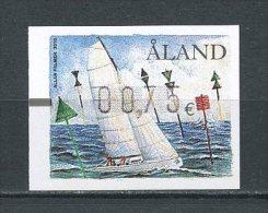 ALAND 2010 Distributeur N° 19 ( 0,75 ) ** Neuf = MNH  Superbe Bateaux Boats Voiliers Sailboat Balises - Aland