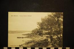 CP, 29, BENODET Pointe Et Château De Malakoff N° 3978 Vierge - Bénodet