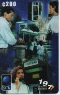 COSTA RICA PREPAID PHONECARD ICE PREPAGO V26- 4/99-280000pcs -USED(2)