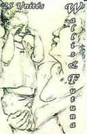 Wallis Et Futuna Telecarte Phonecard Wf31 Desir De Sommeil Femme Enfant Ut Cote 15 Euro TBE - Wallis And Futuna