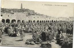 GHARDAIA  Un Jour de march�  Recto Verso