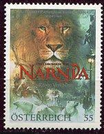 """(cl 10 - P1) Autriche ** N° 2394 (ref. Michel Au Dos) - Cinéma """"le Monde De Narnia""""  Lion, Ours - - 1945-.... 2. Republik"""