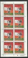 "Tchad YT 204 Feuille De 10 "" Médailles D´or J.O. 200 Mètres "" 1969 Neuf** - Ciad (1960-...)"