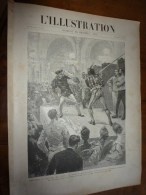 1894 ESCRIME Travers-âge; Misères Du Millionnaire LEBAUDY; Le Steam-yacht SEMIRAMIS; Le G'GRAVENSTEEN ;La PRESSE Anarch - Journaux - Quotidiens