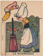 Découpage, Image à Découper Carton - Phosphatine Falières - La Normandie - Advertising