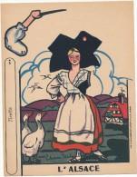 Découpage, Image à Découper Carton - Phosphatine Falières - L´Alsace - Advertising