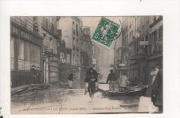 Inondations De Paris Sauvetage Place Maubert Timbre Perfore H C - Zonder Classificatie