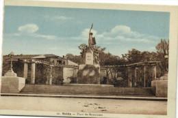 SAIDA  Place du Monument    Recto Verso