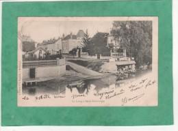 Le Loing à Saint-Dominique (Lavoir Animé - Commune De Montargis) - Montargis