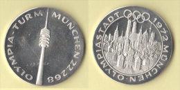 München Olympiastadt 1972   Medaille - Germania
