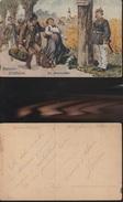 333) THIELE ARTHUR HAMSTER ERLESSNISSE DIE HAMSTERFALLE NON VIAGGIATA MA DATATA 1911 - Thiele, Arthur