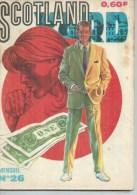 SCOTLAND YARD   N° 26  -  IMPERIA 1970 - Petit Format